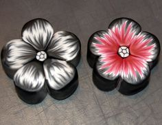 flower cane - picture tutorial and not-in-english instructions