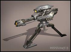 R3 Multiplayer Turret by MeckanicalMind on deviantART