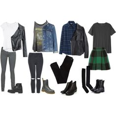Back To School Rock Inspired Outfits