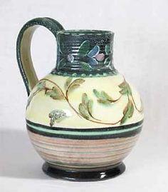 Denby jug by Glyn Colledge Denby Pottery, Pottery Studio, Day Use, Stoneware, Glass Art, Pots, British, England, Ceramics