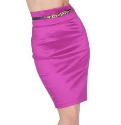 Fitted High Wasit Skinny Belt Formal Evening Office Cocktail Pencil Skirt S M L Hot from Hollywood. $19.99