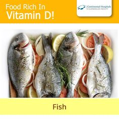 All kinds of #fish are high in #VitaminD. Typically oily or fatty fish contain more Vitamin D than less oily fish. An example of oily fish would be a juicy thick fillet of #salmon. Other common options are trout, mackerel, tuna or eel.