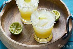 Pineapple Margarita ~ #SundaySupper » The Messy Baker Blog