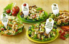 http://www.kimkins.com/best-and-worst-fast-food-salads/