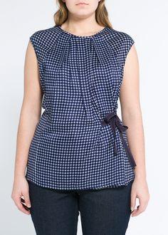 Print Plussize Top Shirt