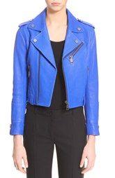 Victoria, Victoria Beckham Leather Biker Jacket