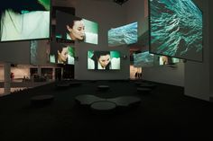 Isaac Julien: Ten Thousand Waves - Isaac Julien. Ten Thousand Waves. 2010. Installation view at The Museum of Modern Art. Photo by Jonathan ...