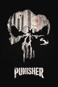 Marvel's The Punisher is heading our way and Netflix have released a new trailer and a release date. Jon Bernthal is back as Frank Castle from Marvel's [. Punisher Marvel, Ms Marvel, Logo Punisher, The Punisher 2017, Punisher Netflix, Punisher Skull, Netflix Marvel, Marvel Logo, Marvel Films