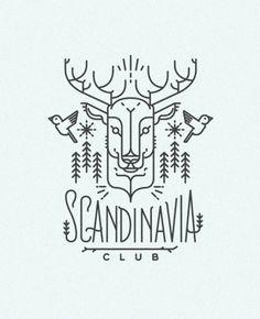 SCANDINAVIA CLUB. IllustrationsbyDOCK 57