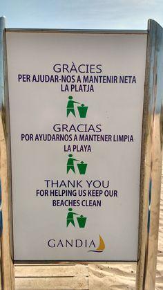 Mantén limpia la Playa de Gandia Bullet Journal
