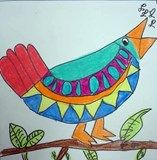 Artsonia Art Exhibit :: First Grade Singing Birds