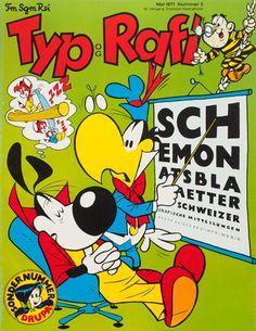 TM SGM RSI, Typografische Monatsblätter, issue 5, 1977. Cover designer: Hans-Rudolf Lutz