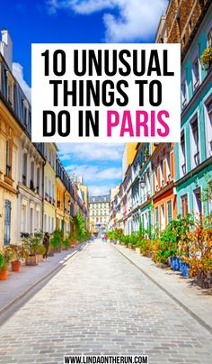 10 Unusual Things To Do In Paris That Are Not The Eiffel Tower – Linda On The Run – Best Europe Destinations Paris Travel Guide, Europe Travel Tips, Travel Guides, Travel Destinations, Traveling Europe, Travel Trip, Bali Travel, Travel Hacks, Holiday Destinations