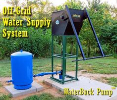 Deep well hand pump, waterbuck pumps
