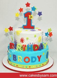 First Birthday Cake ideas by jenna266 on Pinterest Boy ...