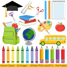 School Clipart Clip Art, Graduation Teaching Education Clipart Clip Art…