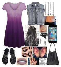 """""""Untitled #3018 - Outfit of the Day - 11/23/16"""" by nicolerunnels ❤ liked on Polyvore featuring Ancient Greek Sandals, VILA, Forever 21, J.A.K., Fantasy Jewelry Box, A.Jaffe, ASOS and Vidal Sassoon"""