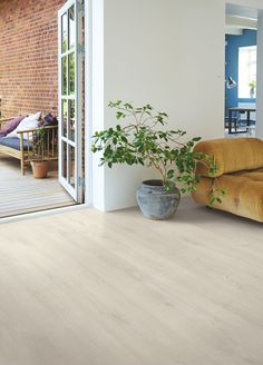 Open up the doors and let your living room floor embrace the natural light Pergo Laminate flooring Sensation Light Fjord Oak Open up the doors and let your living room floor embrace the natural light Pergo Laminate flooring Sensation nbsp hellip Pergo Laminate Flooring, Wood Laminate, Wood Flooring, Hardwood Floors, Living Room Flooring, Bedroom Flooring, Light Oak Floors, Floor Design, The Doors