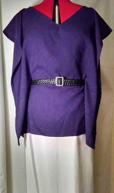 Kiki Michel Couture Purple Butterfly Top