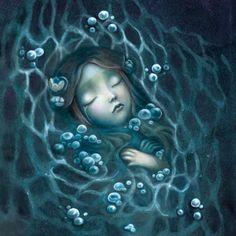 Edelvives, Benjamin Lacombe, Lacombe, Ondina, álbum ilustrado, ilustración, literatura infantil y juvenil, lij, cuentos.