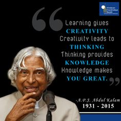 He was not only the best-known scientist of the country but a visionary! #KalamSir will always remain in our hearts!
