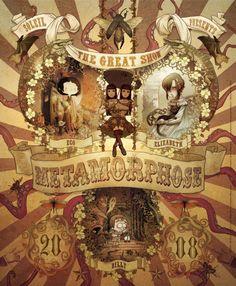 Poster promotion collection Métamorphose aux éditions Soleil.
