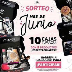 Participa en el sorteo de Junio de @tumaqui  son 10 Cajas de Maquillaje Participa Ya!! en Tumaqui.com  @tumaqui