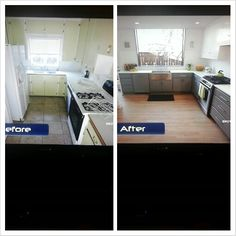 Property Brothers Before After Kitchen I Love That Window Idea Infinity