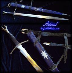 Aduial - Elven Sword of Evening, by Fableblades on DeviantArt