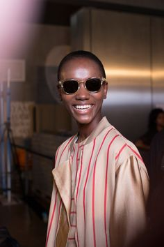 Paul Smith Spring 2015 Backstage. Photo by Kevin Tachman.