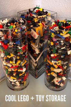 Large Vase LEGO storage. Toy storage too.