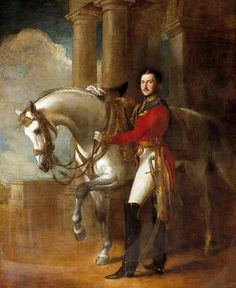 Prince Albert in an equestrian painting by Francis Grant in 1845. Standardbred Horse, Sir Francis, Man Of War, Art Uk, Your Paintings, British Royals, Equestrian, Royalty, Prince