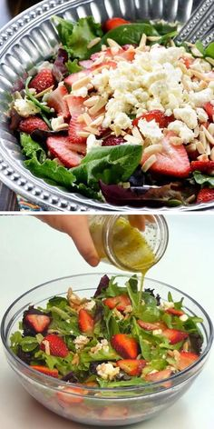 Great Salad Recipes, Salad Recipes Low Carb, Healthy Recipes, Salad Ideas, Easter Dinner Recipes, Thanksgiving Recipes, Appetizer Recipes, Easter Salad, Easter Lunch