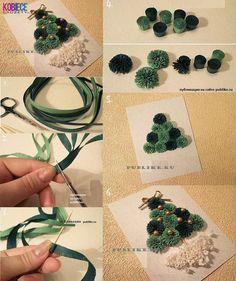ŚWIĄTECZNA KARTKA wykonana WŁASNORĘCZNIE... Oto fajny przykład!