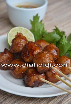 Diah Didi's Kitchen: Bakso Bakar