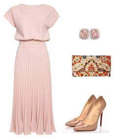 """moda evangelica"" by gesiane-saves on Polyvore featuring moda, Christian Louboutin e Allurez"