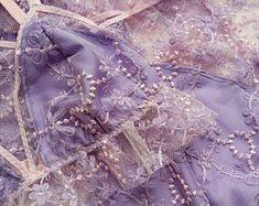 Lavender lace lingerie set, pastel pink lingerie set, Sheer lavender lingerie set, lavender lace panties, lavender lace bralette