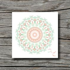 Spring time geometric decor feather print by SouthernCrossStudio, $22.00