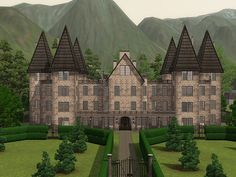 Home of the wealthy pure-blood Malfoy family that was used as the base of operations for Lord Voldemort and the Death Eaters during the Second Wizarding War. Description from modthesims.info. I searched for this on bing.com/images