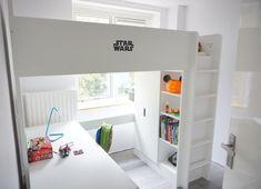 Roomtour: de slaapkamer van mijn zoon Home, Loft Bed, Bed, Furniture Projects, Diy Furniture Projects