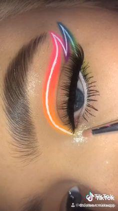 Eye Makeup Designs, Eye Makeup Art, Eyebrow Makeup, Skin Makeup, Eyeshadow Makeup, Edgy Makeup, Natural Eyeshadow, Eyeshadow Palette, Creative Eye Makeup