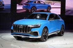 Audi Q8 : coupé et hybride rechargeable à Detroit