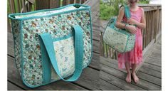 Tutorial: Quilted overnight bag