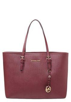 JET SET TRAVEL - Handtasche - merlot