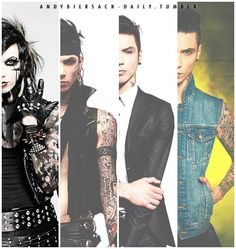 The evolution of Andy Biersack