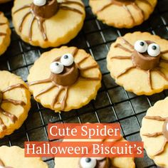 Looking for easy fun Halloween party food ideas? These Shortbread Spider Biscuits, are a cute treat for the kids. Using my childhood favourite chocolate, Rolo's and my daughters favourite Kinder Bueno. These Cute Spider Halloween Biscuits are definitely a treat no tricks here!
