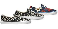 As an ongoing tribute to the brand's beginnings as a family-run company, Vans continues its Van Doren Collection by reissuing three vintage prints for holiday 2014. Pulling its namesake from the family that brought Vans to life, the Van Doren Collection takes unique patterns from the early years to uppers of select Classics silhouettes.
