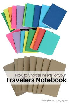 How to Choose Travelers Notebook Inserts - pinned by ∙⋞ ✦ Karen of CraftedColour ✦ ⋟∙ (scheduled via http://www.tailwindapp.com?utm_source=pinterest&utm_medium=twpin&utm_content=post188190115&utm_campaign=scheduler_attribution)