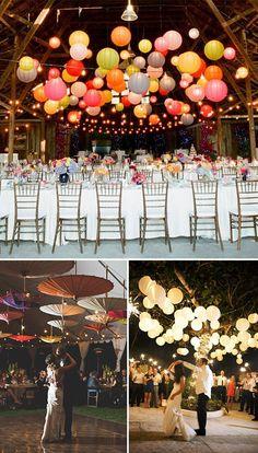 Decoración de la zona de baile en las bodas