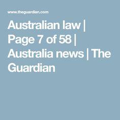 Australian law   Page 7 of 58   Australia news   The Guardian